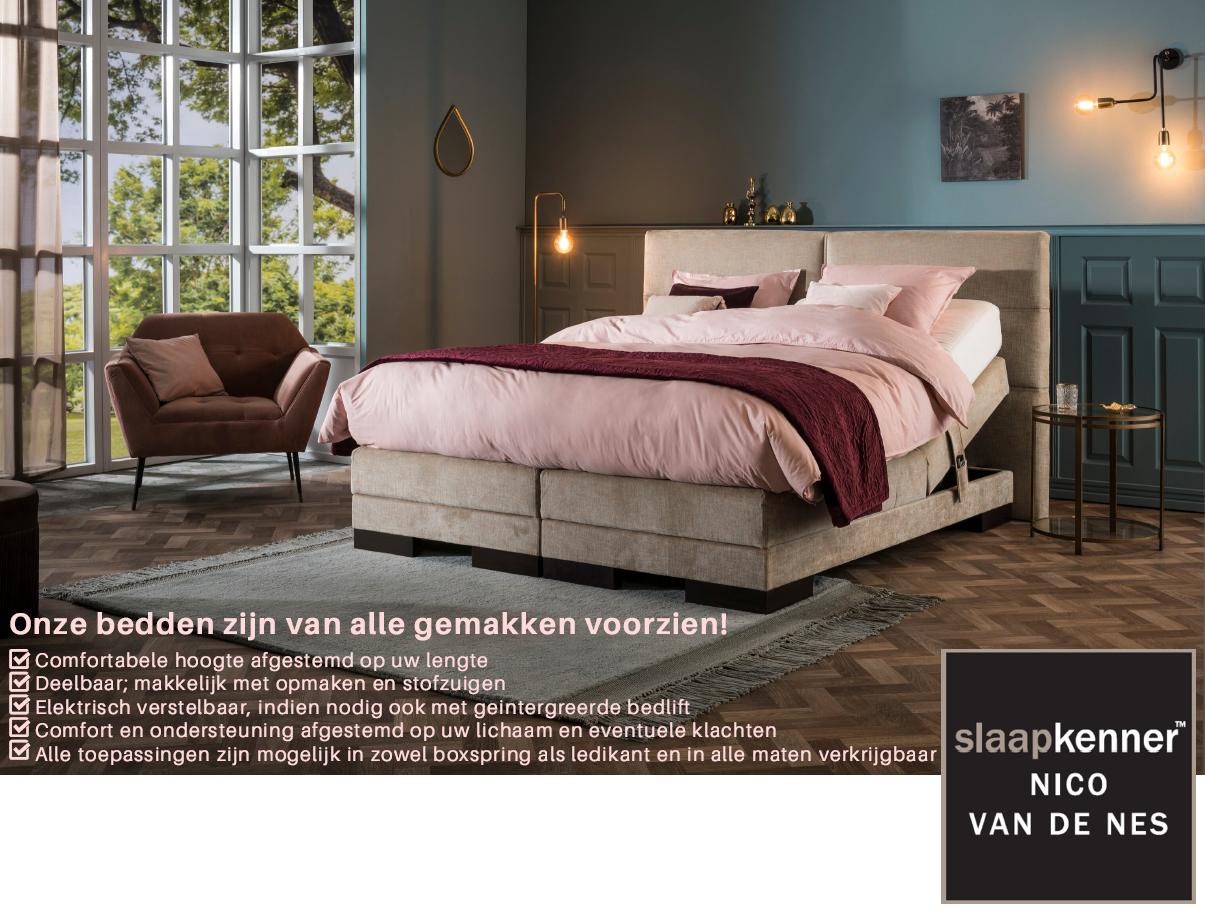 seniorenbedden comfortbedden slaapkenner Nico van de Nes