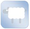 dekbedicoon-schaap-blauw-klein