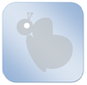 dekbedicoon-vlinder-blauw-klein