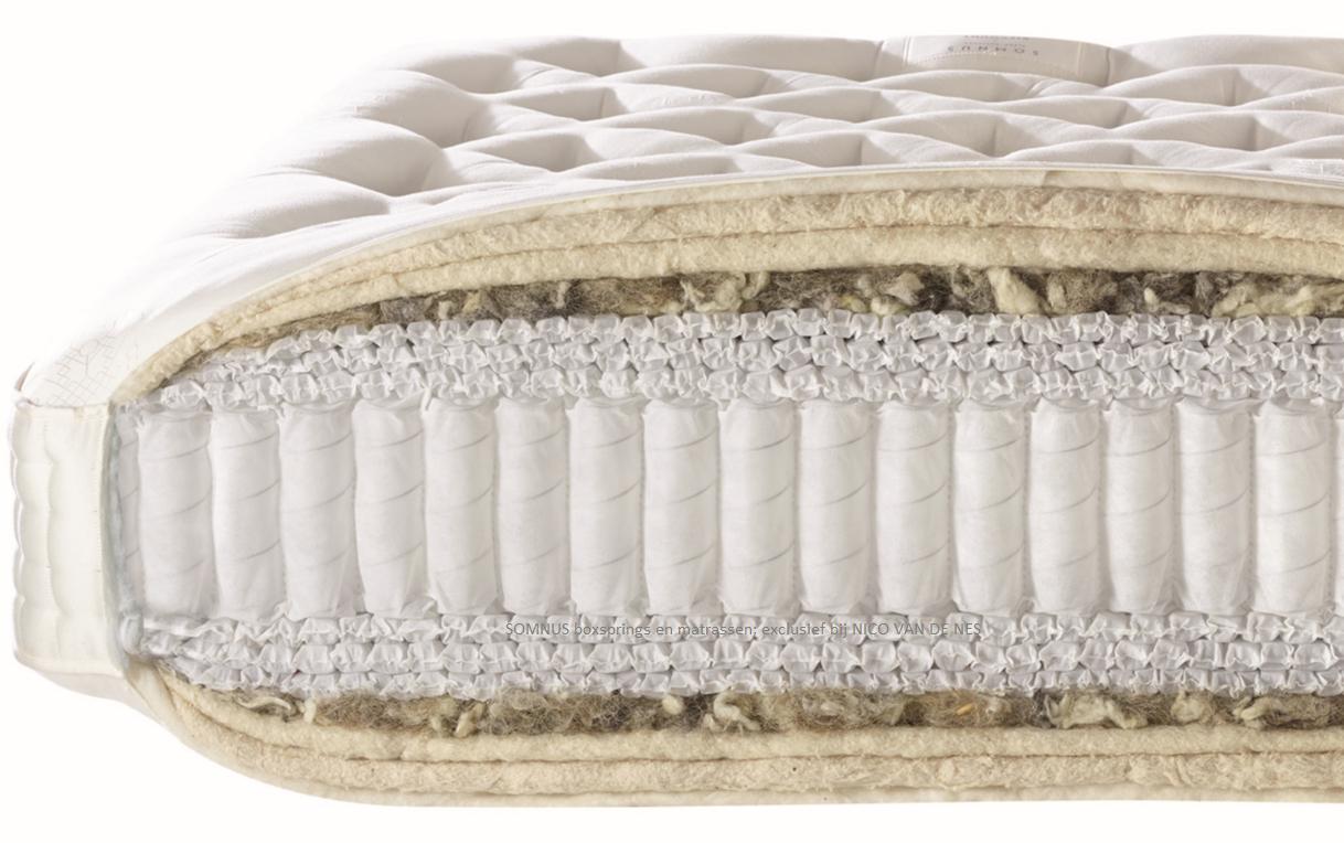 Natuurlijk slapen Somnus boxsprings en matrassen natuurlijke materialen wol paardenhaard handgemaakt Nico van de Nes schagen ursem broek op langedijk