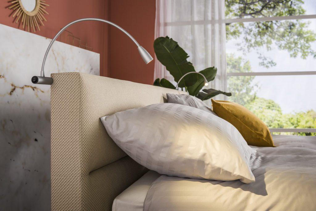 bedlampjes hoofdbord slaapkenner NICO VAN DE NES
