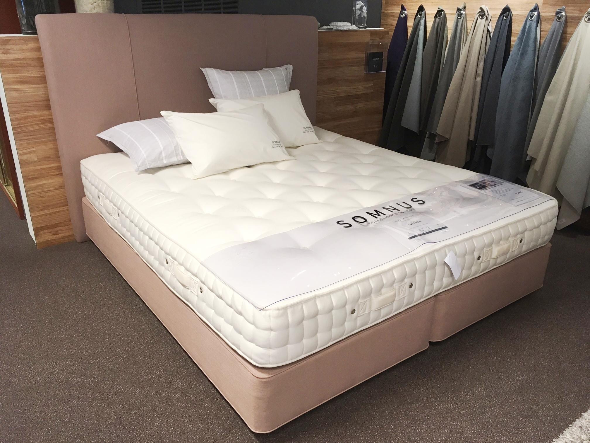 somnus boxspring natuurlijke matrassen natuurlijk slapen sale korting boxspring matras Adstrum Nico van de Nes Schagen
